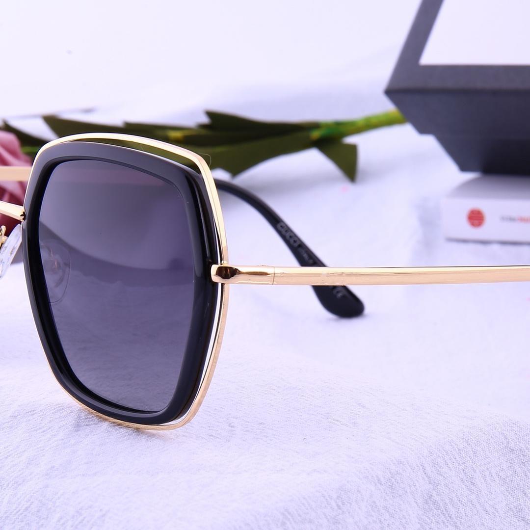 gafas de sol de diseño -2019 nueva dama gran marco tendencia película de color gafas de sol polarizadas TR HD modelo de lente polarizada 2453