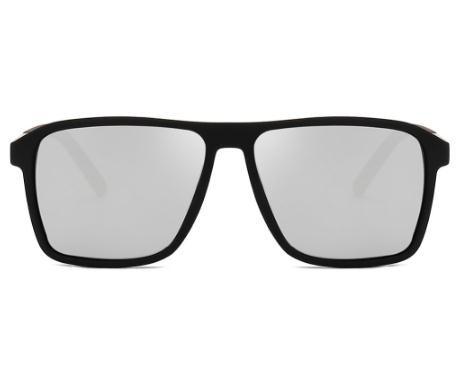 2020 New óculos polarizados Homens espelhado Driving Óculos retângulo preto óculos de sol masculino fresco Moda Classic