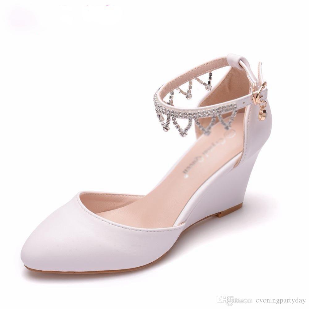 grande sconto scarpe da corsa Cheaper Acquista Sandali Con Zeppe Da Donna 7cm Sandali Con Zeppa Sandali ...