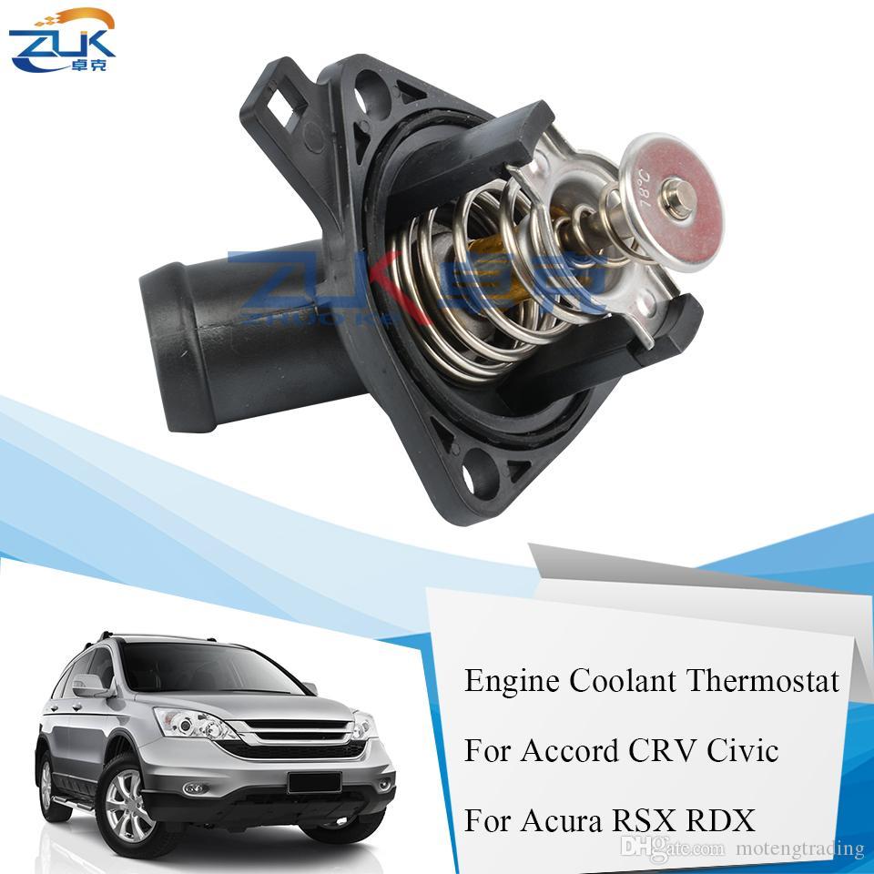 ZUK Engine Coolant Thermostat For Honda ACCORD CRV CIVIC ODYSSEY For Acura RSX RDX 19301-RAF-003 19301-PNA-003