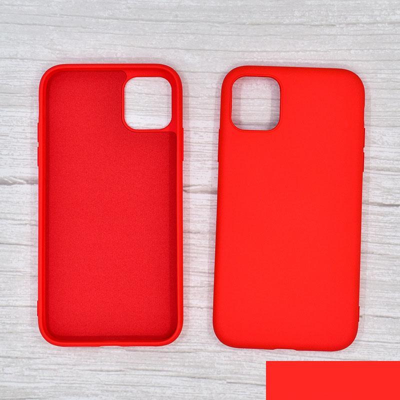 Funda de teléfono de silicona líquida para iPhone12 11 Pro MAX XS MAX 7 8 PLUS CASE INOUTORNE / NO TÓXICO al por mayor