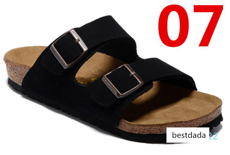 Arizona 2020 Yeni Yaz Beach Mantar Terlik Ayaklı Sandalet Kadınlar Karışık Renk Casual Slaytlar Ayakkabı Düz Ücretsiz Kargo US3-15 AT22 Floplar