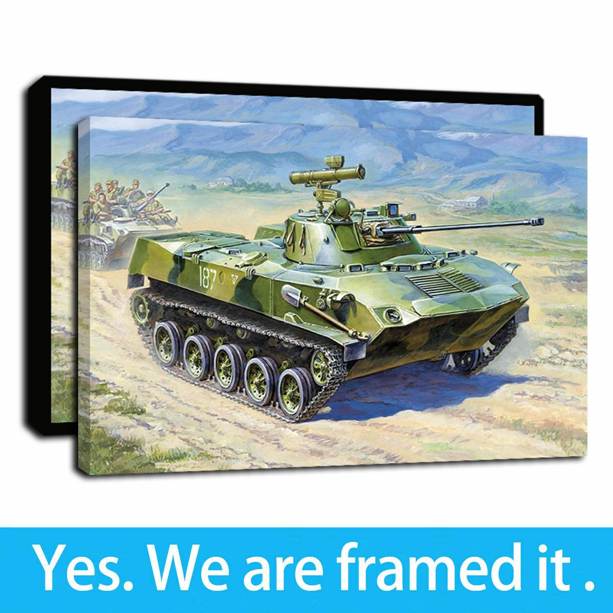 Opere d'arte incorniciate camion russo serbatoio dell'olio Dipinti HD stampa su tela di arte della parete Pittura Immagine poster per la decorazione domestica - pronto da appendere