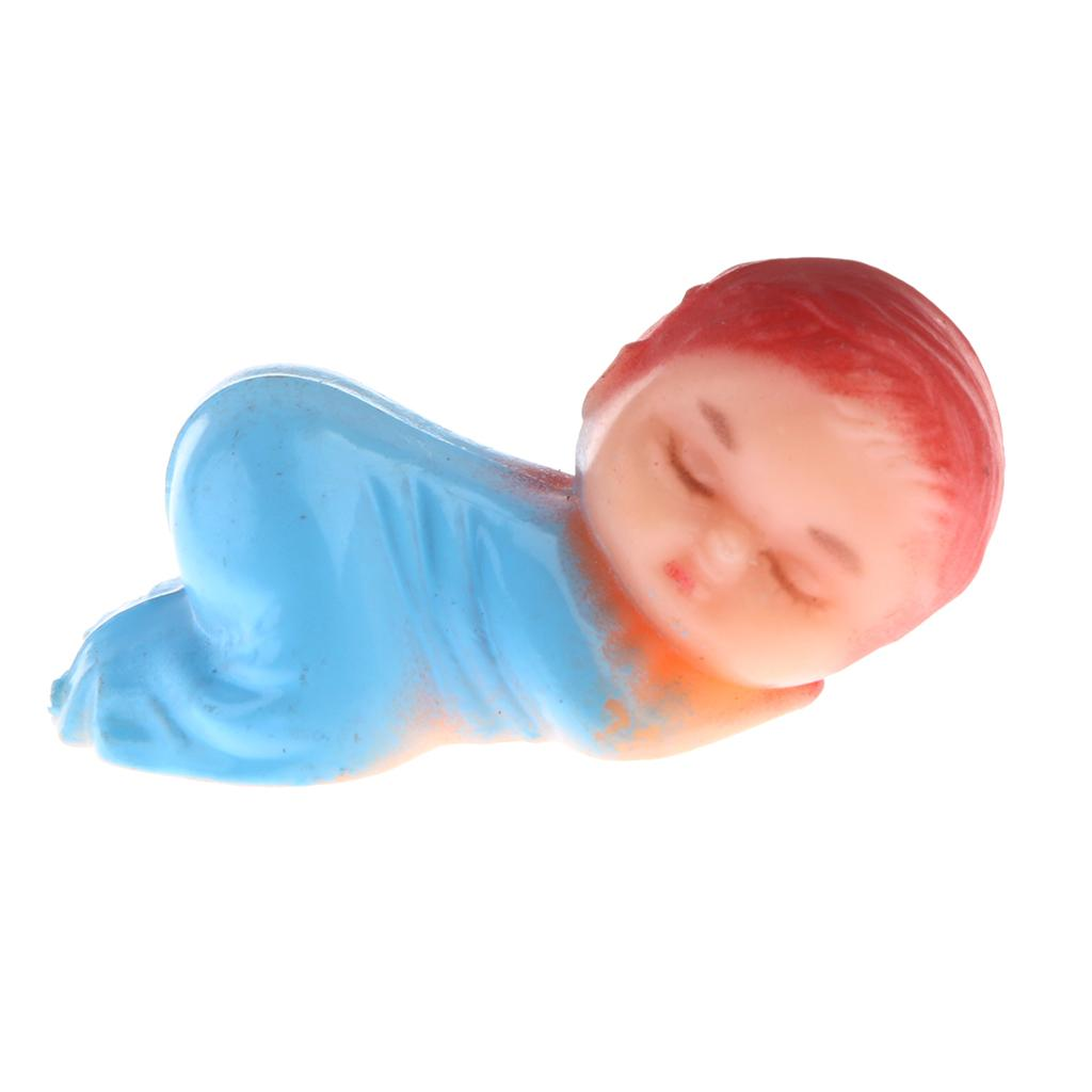 48pcs Mini Sleeping Babies Baby Shower Party Gift Favor Table Decorations