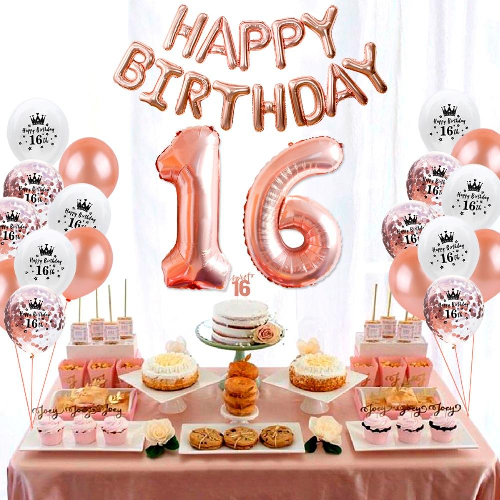 Großhandel Patimate Happy Birthday Party Dekore Kinder 16