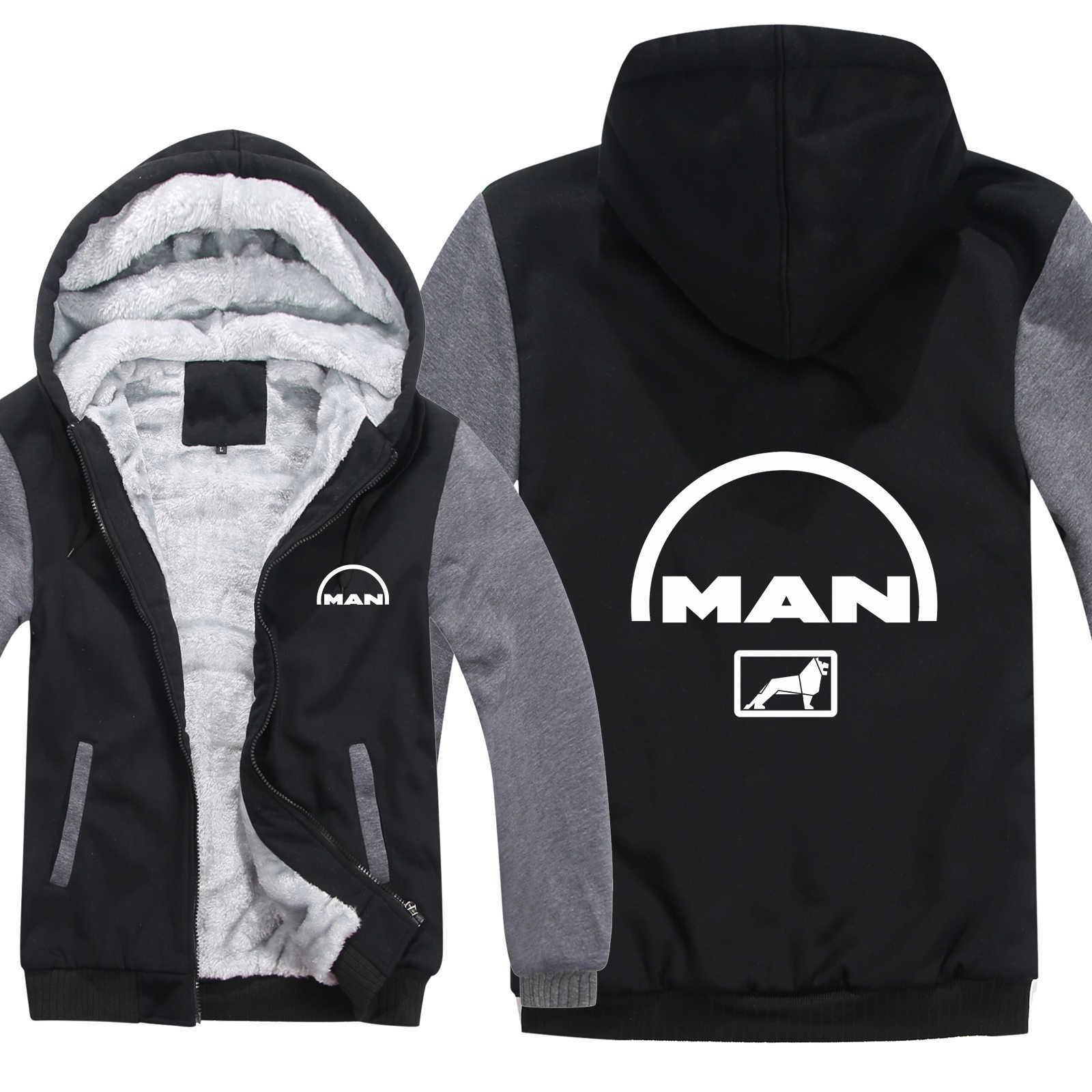 MAN Truck Hoodies Men Fashion Coat Pullover Wool Liner Jacket MAN Truck Sweatshirts Hoody HS-012 V191105