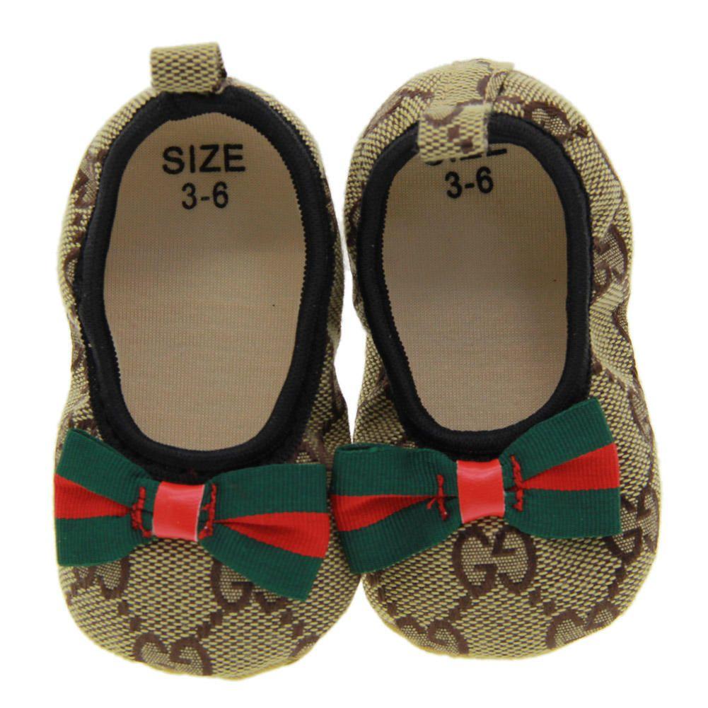 2019 Baby Girl Shoes 귀여운 공주 Bowknot 키즈 Anti-slip 신발 0-18 개월 유아 어린이 침대 훅 루프 첫 워커