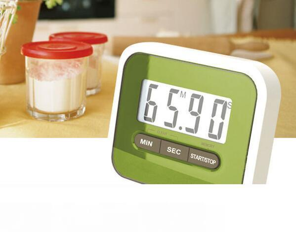 Popular Large Multifunction LCD Kitchen Cooking Timer Count-Down Up Clock Loud Alarm Magnetic
