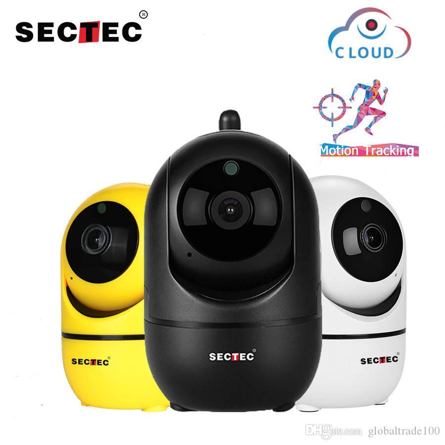 كاميرا 1080P SECTEC الغيمة لاسلكية واي فاي AI IP الذكي تتبع السيارات من الإنسان أمن الوطن المراقبة CCTV شبكة كاميرا YCC365 PIUS APP