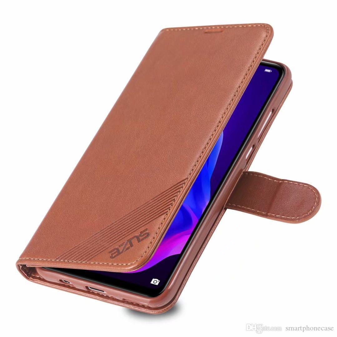 Caliente para Huawei disfruta de un 10 Caja linda cubierta delgada del tirón de lujo de cuero original del caso para Huawei disfruta de un 10