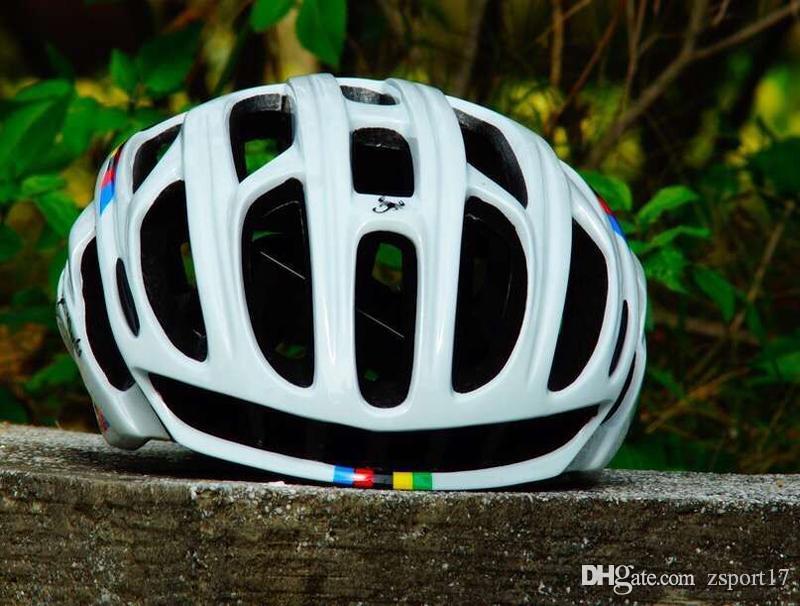 10 الألوان الحجم M54-56cm العقرب الدراجات خوذة جبل الطريق في العفن خوذة دراجة خفيفة دراجة خوذة مع LED أضواء بالجملة