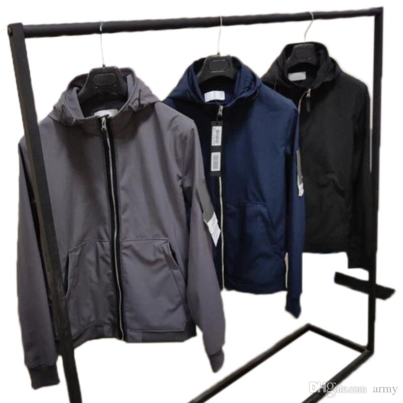 19SS 43427 heiße Art und Weise Herbst-Winter-Jacken LIGHT SOFT SHELL-R JACKE TOPST0NEY Herren Jacke Fashion Sweater HFLSJK323