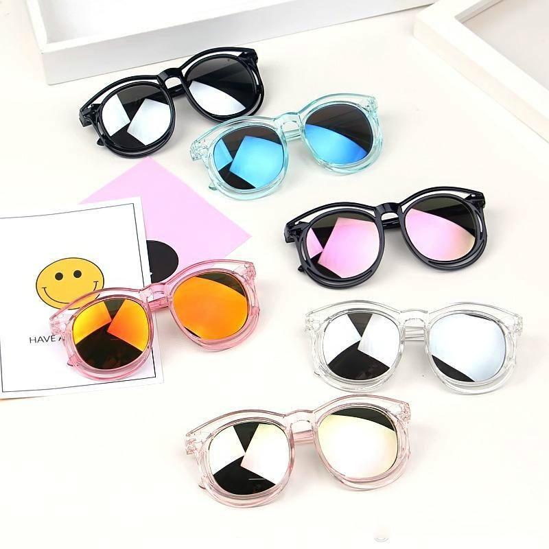 Newest Baby Kids Sunglasses Children Anti-Ultraviolet Glasses Eyewear Summer Toddler Kids Designer Sun Glasses Boys Girls Student Sunglasses