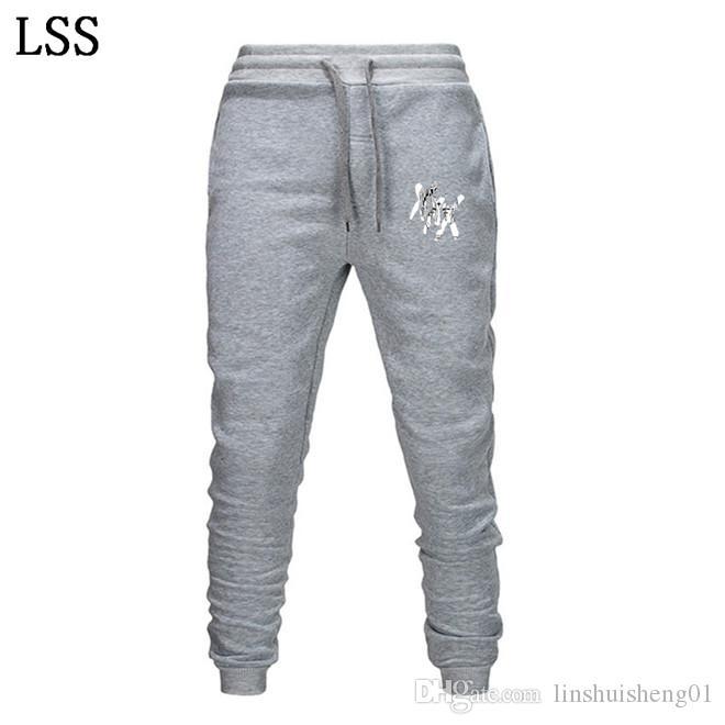 New Rapper Xxxtentacion Pants Summer Fall Casual Trousers Straight Pants Sweatpants Harem Cartoon Mens Jogger EL-1