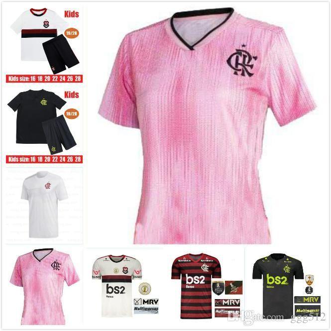 19 20 2020 2019 jersey flamengo flamand GUERRERO DIEGO VINICIUS JR sport Maillots de football Flamengo GABRIEL enfants adultes de football femmes chemise