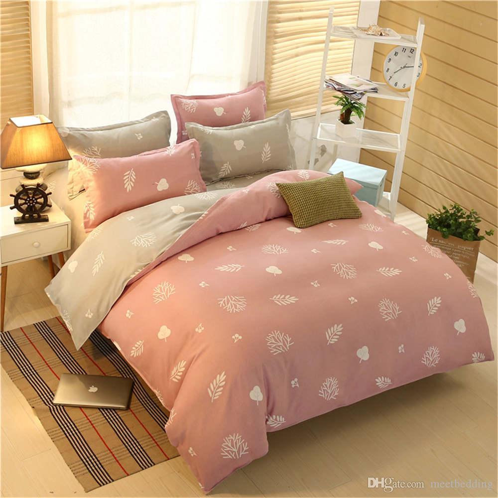 Beliebte Mordern Bettwäsche Set Twin Full Queen Size mit schönen Muster Bettbezug Set Geschenk für Kinder von Bettwäsche Cover Suit