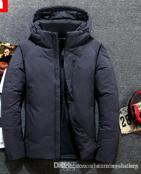 Dağ Baltoro Kış Ceket Mavi Beyaz Aşağı Ceket Erkekler Kadınlar Kış Tüy Palto Ceket Sıcak Kaplama # 032