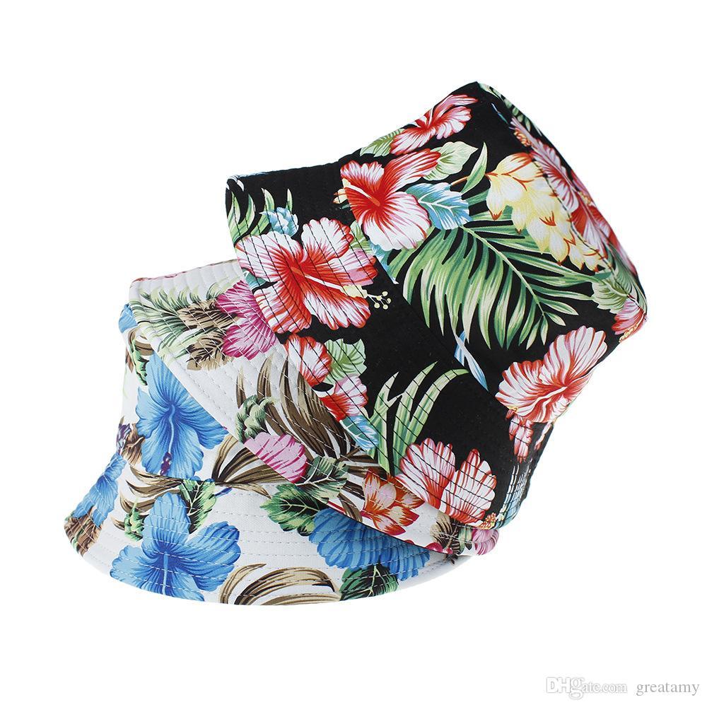القبعات القطن الربيع summber سيدة الفتيات الازياء السهل اتخاذ النساء ريترو الصياد قبعة رياضية عباد الشمس الشاطئ قبعة مزدوجة ارتداء الجانب دلو القبعات