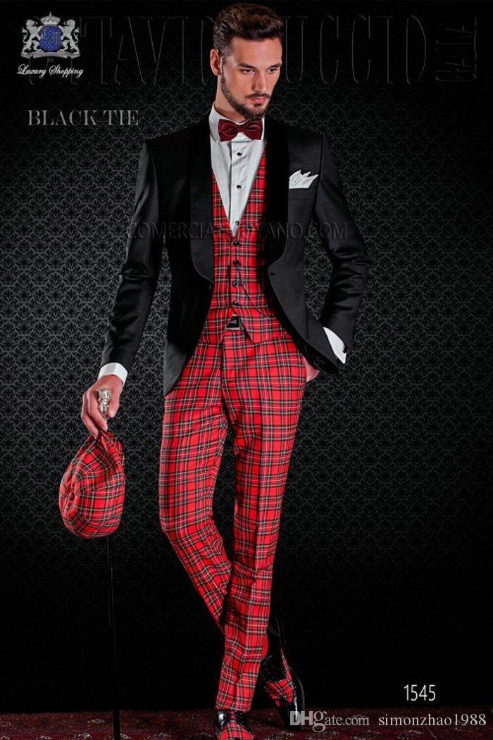 2020 Italian Design Custom Made Shawl Lapel Dinner Party Costumes de mariage Slim Fit smokings pour les hommes de garçons d'honneur costumes de mariage marié Epoux