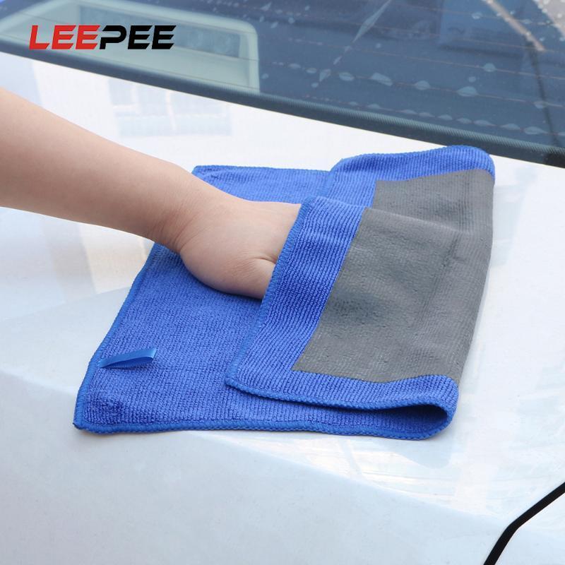 Microfiber Cloths Magic Clay Towel Paint Cleaning Car Detailing Polishing Cloth Car Wash Maintenance Beauty Grinding Mud Cloth