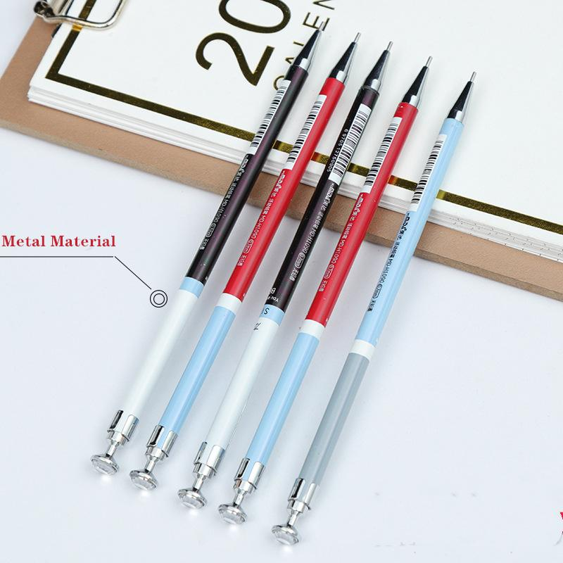 1 Stück Metall Druckbleistift Thin Rod Aktivität Bleistift 0.5 / 0.7 Automatische