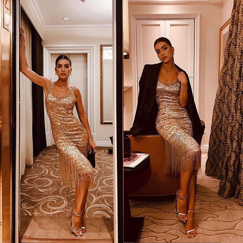 Kadınların iyi satmak yeni listeleme sıcak Satış sıcak cazibesi modern tarzda yakışıklı 8LZ6 koştu elbise için tasarımcı kadın modası Elbise elbise