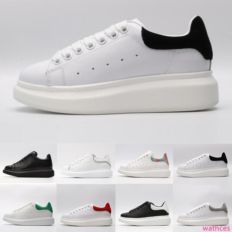 Hot ACE noir blanc de marque de mode de luxe en cuir chaussures de sport pour les femmes fille hommes or noir gris rouge sneaker confortable appartement