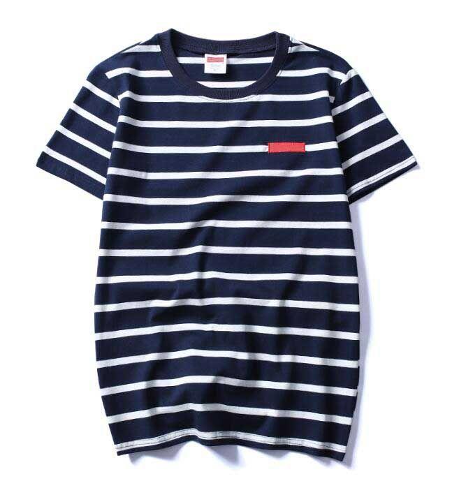 Fashion-t shirt mens designer stripe letter printing embroidery tshirt fashion men women high quality cotton t-shirt comfortable tops