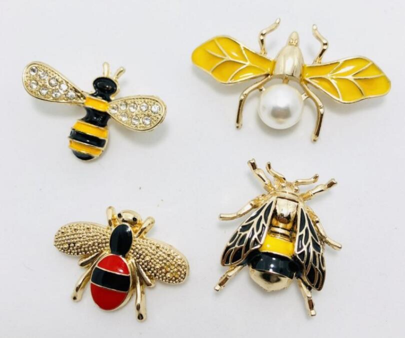 Hot Drip api pin spilla gioiello del costume di modo decorazioni dello spiedo del progettista famoso vestito risvolto Pin per le donne Monili accessori