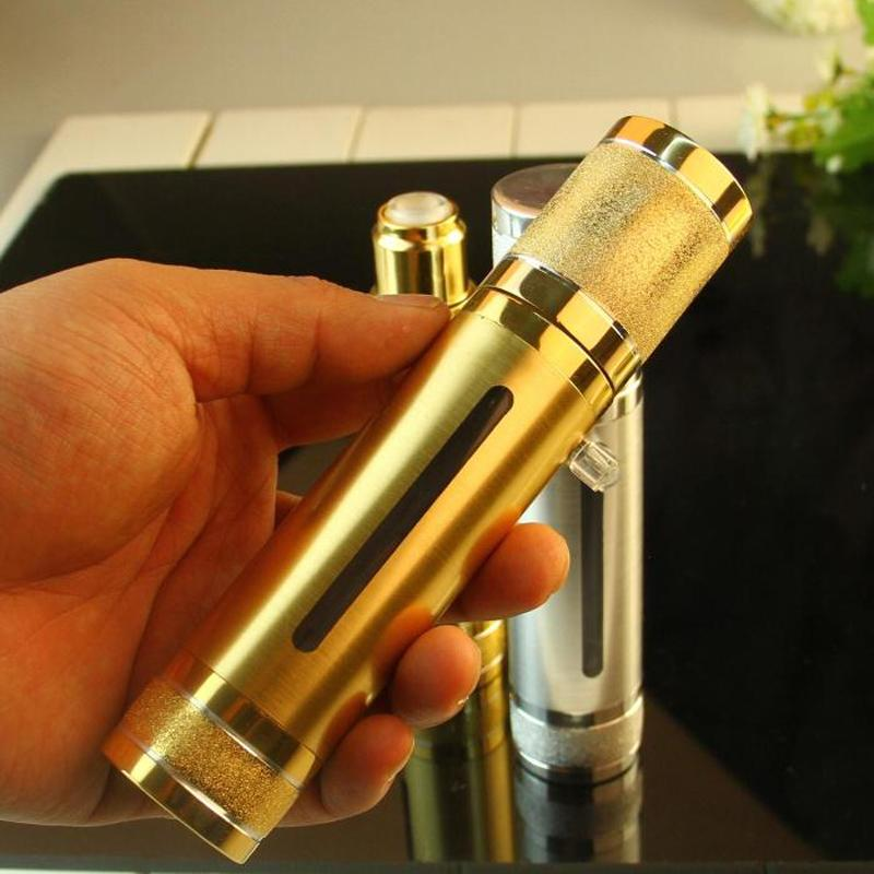 30ML 50ML الأعلى التألق الذهب الفضة الخالي فراغ مضخة زجاجات السفر الرش مكياج العناية بالبشرة حاويات التغليف