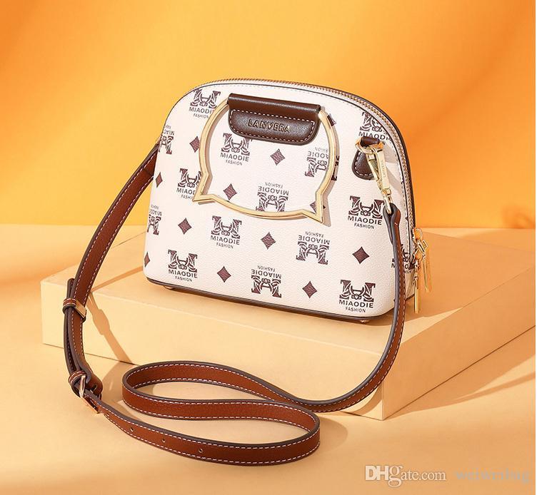2020 nuovo piccolo sacchetto diagonale europeo e tendenza moda americana stampa singola spalla guscio portatile sacchetto L8831
