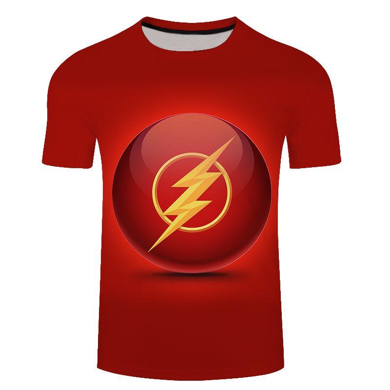 Flash vs batman 3d impressão t camisa dos homens mulheres tshirts verão casual de manga curta o-pescoço topstees superhero solto t-shirt da gota do navio