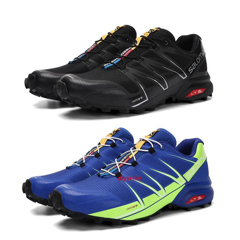 Wholesale New Outdoor mens trainers Running shoes Speedcross Pro 5 Black Blue Red Green Indigo male Walking Jogging Waterproof Sneakers