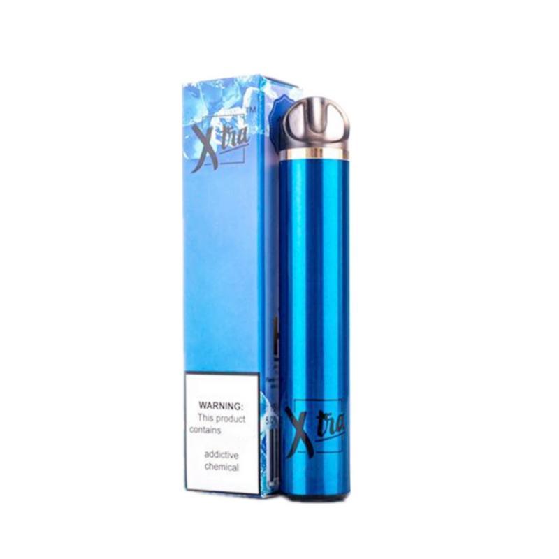 원래 맛있는 xtia 휴대용 일회용 vape 펜 지속 1500 퍼프 미리 채워진 5ml 카트리지 바 포드 장치