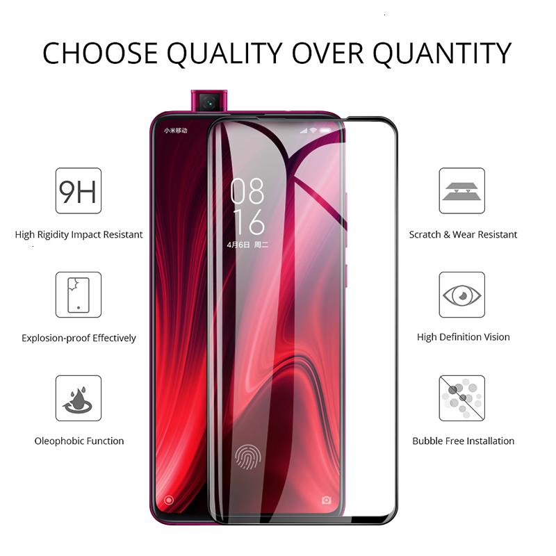 Whole 9h temperate glass screen protector for xiaomi redmi K20 Pro Y3 Y2 Y1 Lite S2 protective film go HD