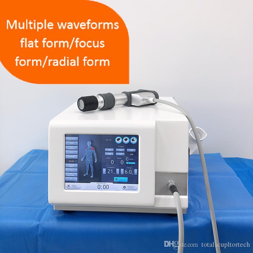 Fabrikpreis Schmerzlinderung niedrige Intensität extrakorporale Stoßwellentherapie Technologie ED-Behandlung Penisvergrößerung Maschine
