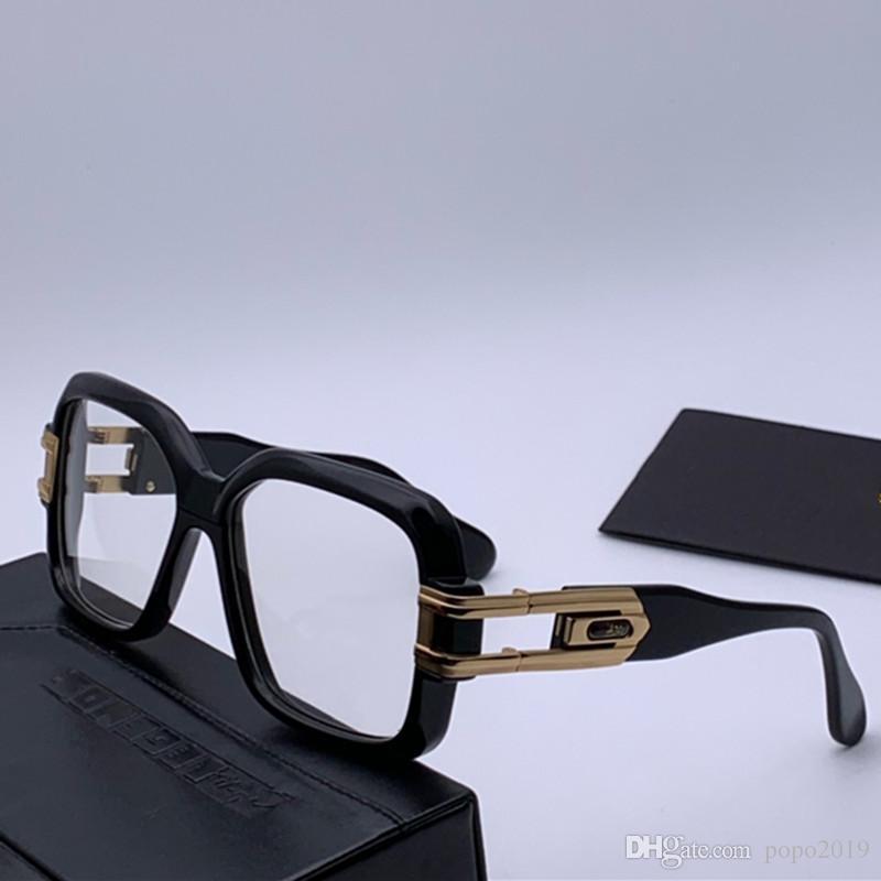 الرجال الكلاسيكية شعبية في الهواء الطلق 623 النظارات الشمسية موقف الذهب مربع إطار تصميم مرآة حماية عدسة النظارات خمر نمط الصيف