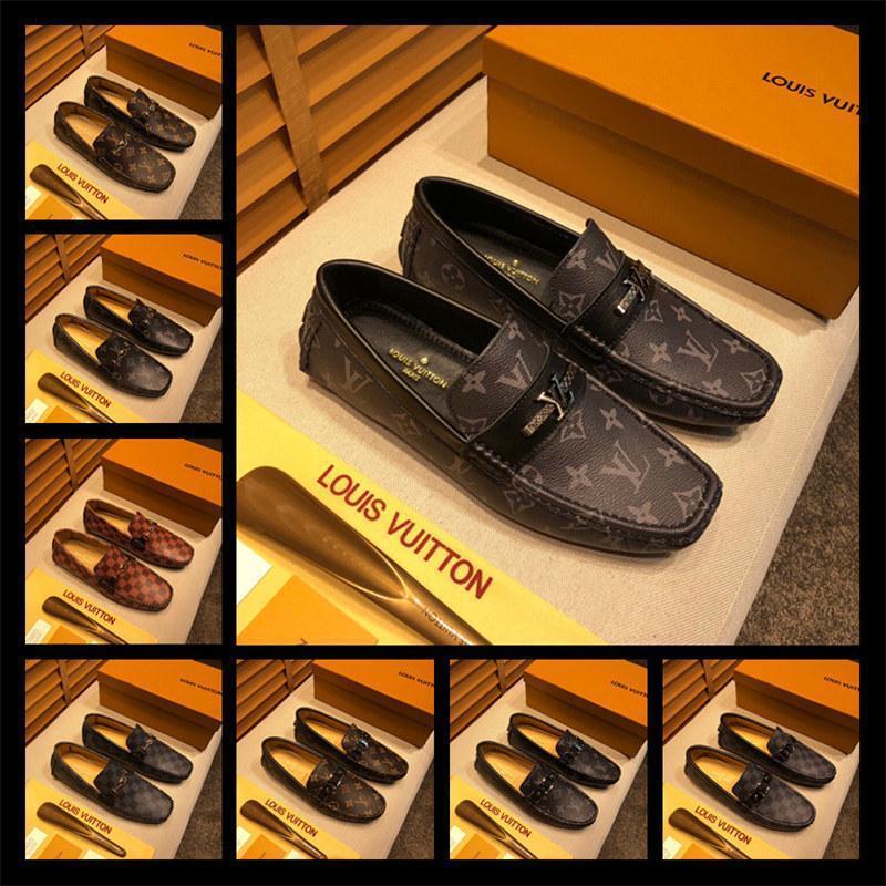 A4 Toe Design Trainingsschuhe der beiläufigen Sport Hochwertige formale Abnutzung schwarze Lederschuhe Geschäft Oxford Schuhe Bequeme 38-46