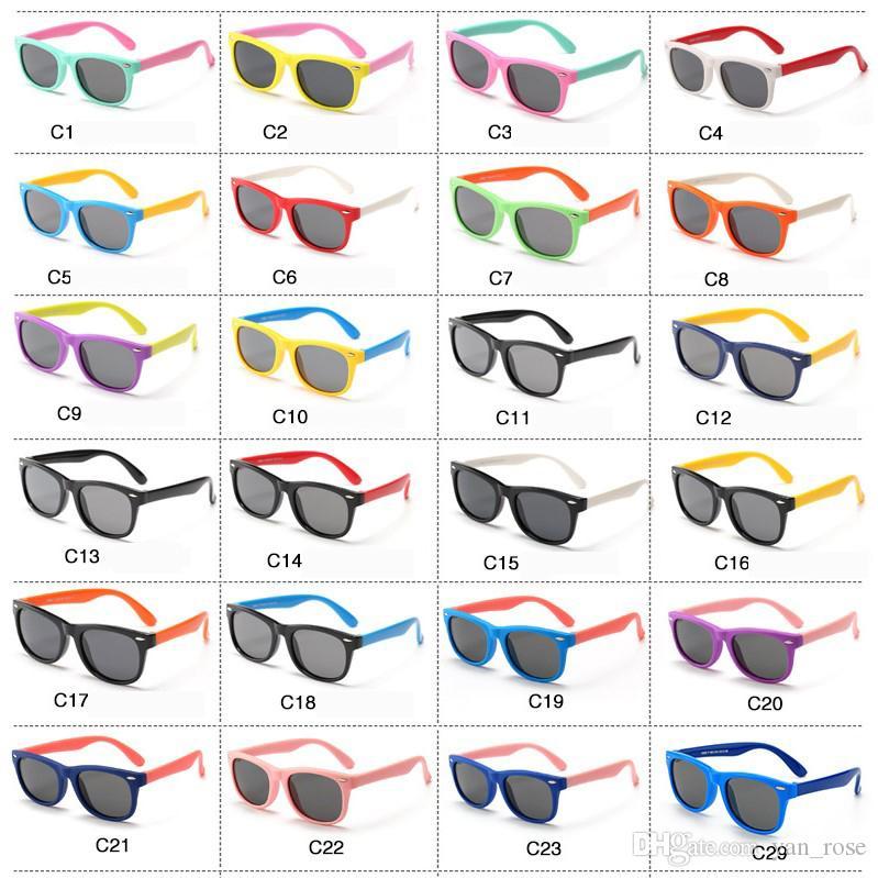 عام 2020 قام أطفال الموضة باستقطاب نظارات شمسية 32 طفل لون نظارات شمسية