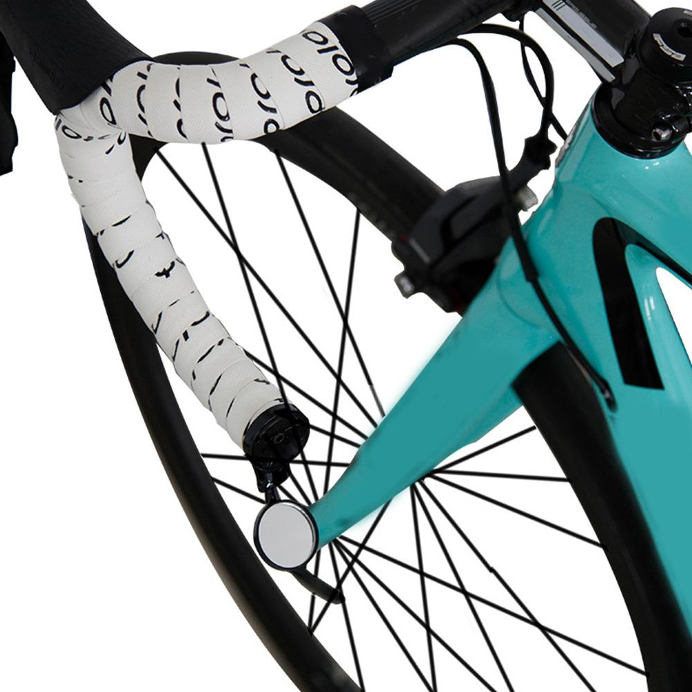 Instalação fácil Ver Acessórios Universal Voltar Visão End bicicleta espelho retrovisor ajustável Ampla Gama Ciclismo refletor Preto