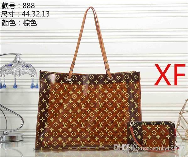 888 # 2020 جديد حقائب النساء حقائب مصمم الأزياء PU حقائب جلدية العلامة التجارية حقيبة السيدات حقيبة الكتف حمل محفظة
