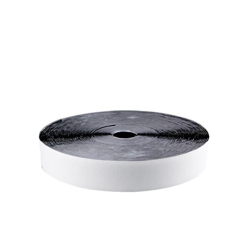 32.8FT / 10 M Çift taraflı Yapışkan Kendinden Yapışkanlı Naylon Toka Bant Rulo Sabit Geri Şerit Raptiye Montaj Bandı Siyah Kanca