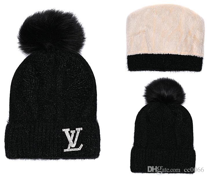 wholesale New Fashion Unisex Beanie Street Hip Hop Beanies Winter Warm hat Designers Knitted Wool Hats for Women Men touca gorros Bonnet Cap