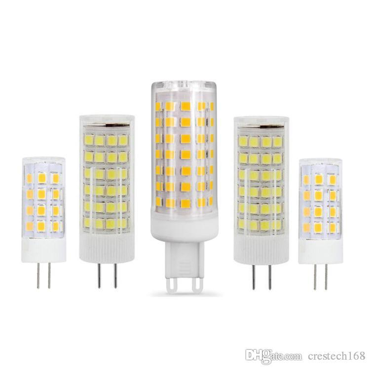 G4 G9 LED AC 220V 110V مصباح مصباح مصغر LED G4 G9 2835SMD 3w 5w 7W 9W Lights Replace Halogen G4 G9 Spotlight CRESTECH