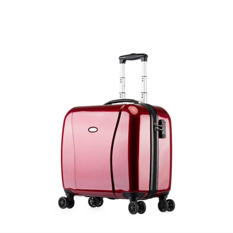 d69a12133461 18Business Boarding BOX,PC Small Trolley Case,Universall Wheel Wedding  Suitcase,Short Distance Luggage,Portable Trunk,Valise Spotty Suitcase Kids  ...