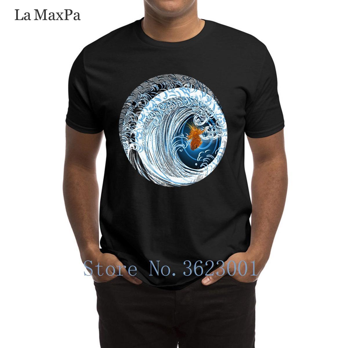 Tişört Hiphop Top 3XL Letter Erkek Tişört Altın In Blue Mens T Shirt Zeki Katı Renk Tee Gömlek Adam Komik Artı boyutu yazdır