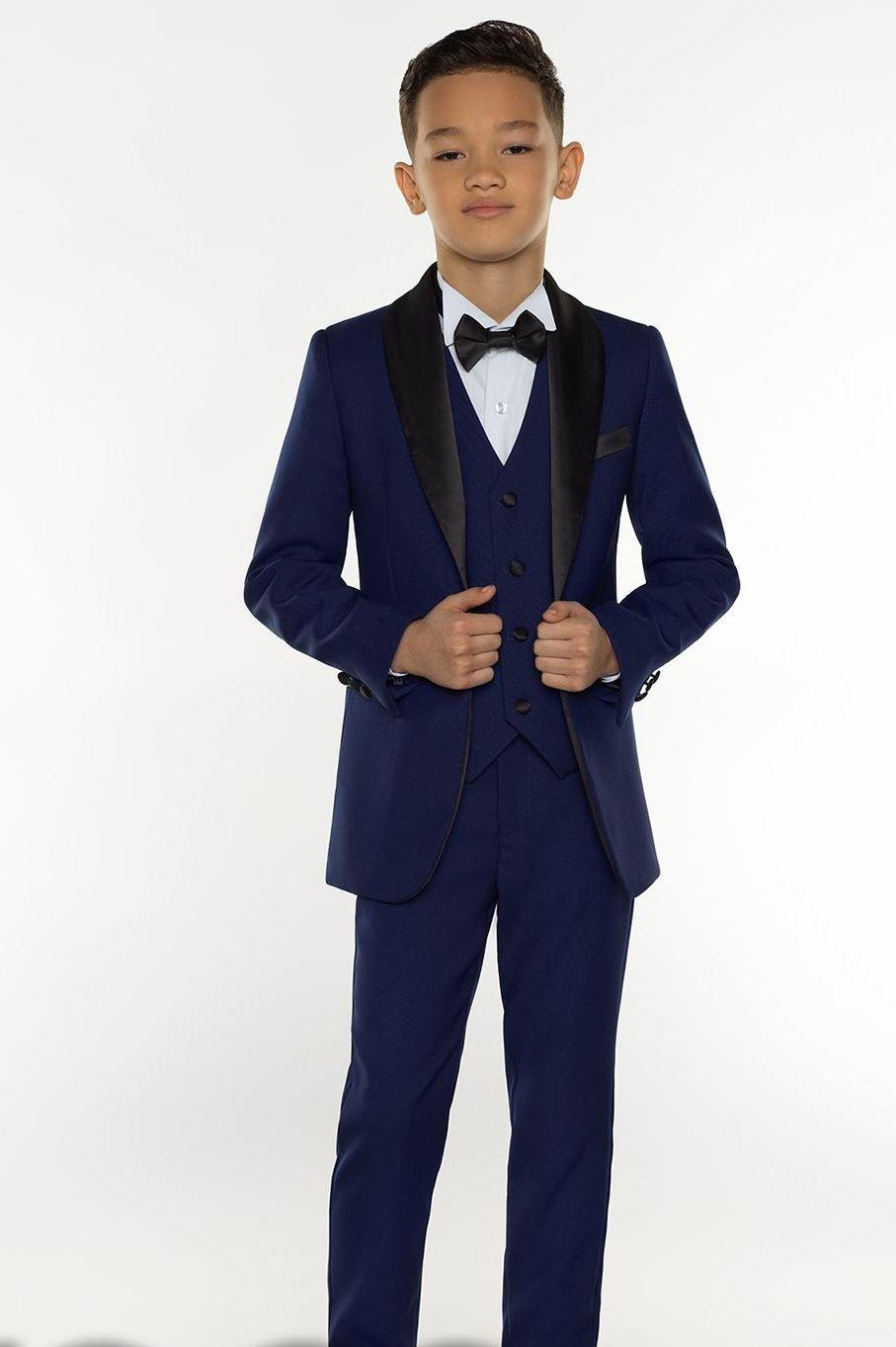 Boys Tuxedo Boys Dinner Suits Boys Formal Suits Tuxedo for Kids Tuxedo Formal Occasion White And Black Suits For Little Men Three Piece