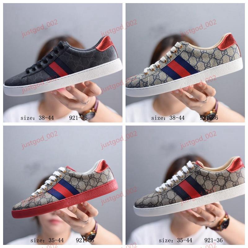 Gucci man shoes xshfbcl ACE lussuoso weiß rot Tiger Biene Schlange Schuhe echtes Leder-Turnschuh-Männer Frauen Outdoor-Schuhe Freizeitschuhe bestickt