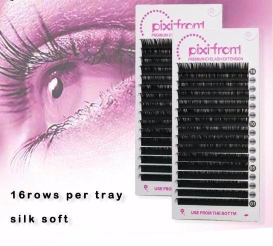 Size False Eyelashes,charming Individual Eye Lashes Extension, Mix Size8-15mm False Eyelash Lash Extension