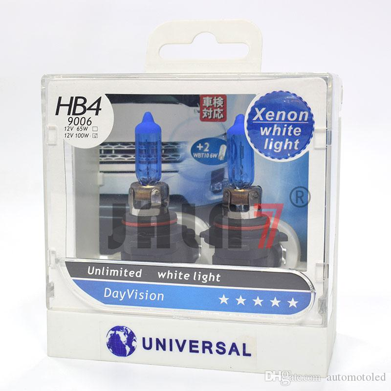 2pcs High Power LED Driving Fog Light Bulbs 6000K DRL 9006 Better than HID